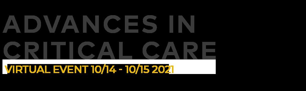 Advances in Critical Care